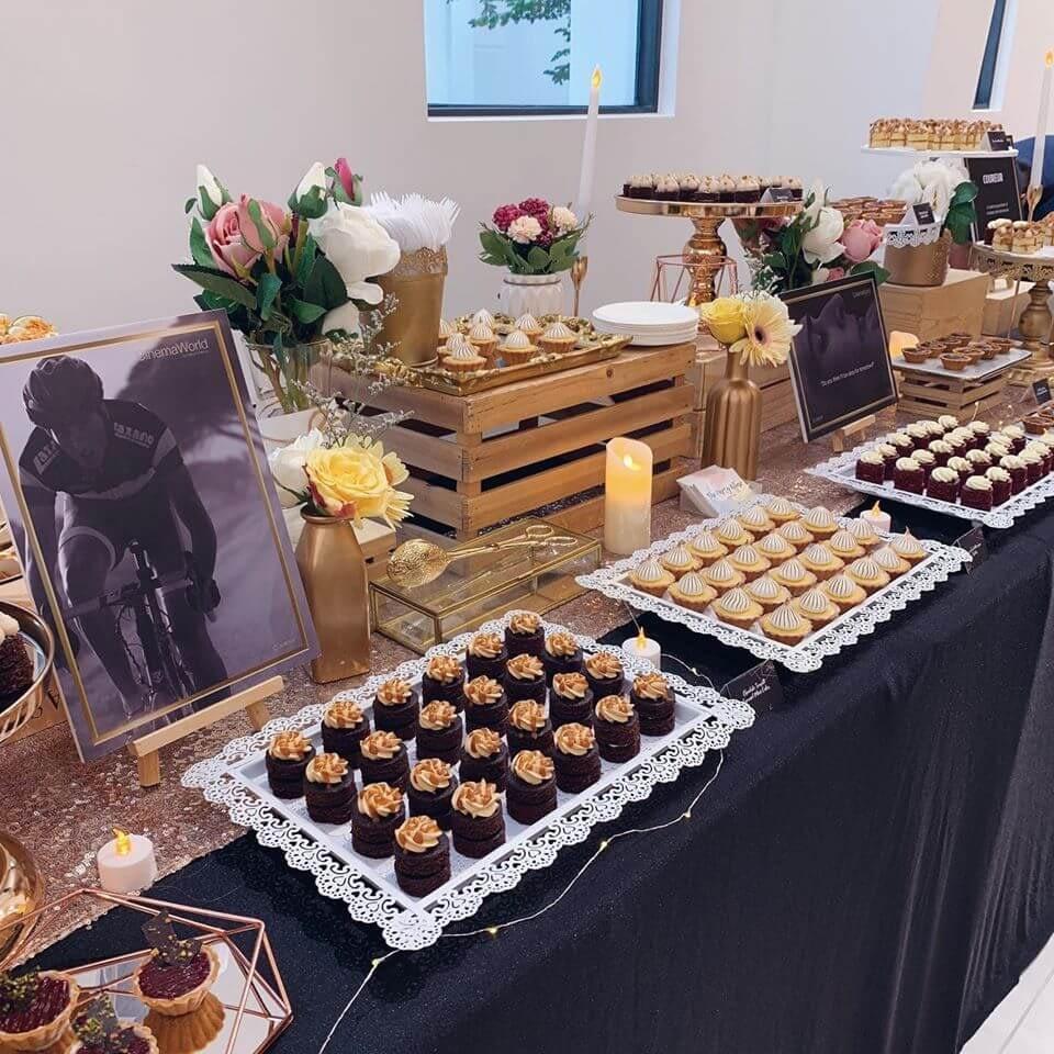 the party affair dessert table