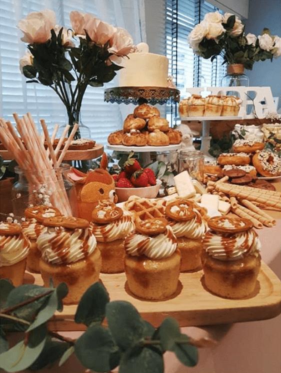 wanderfool dessert tables