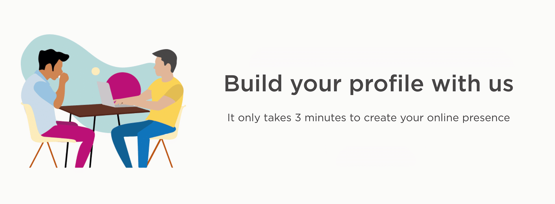 Build your profile with Delegate PRO