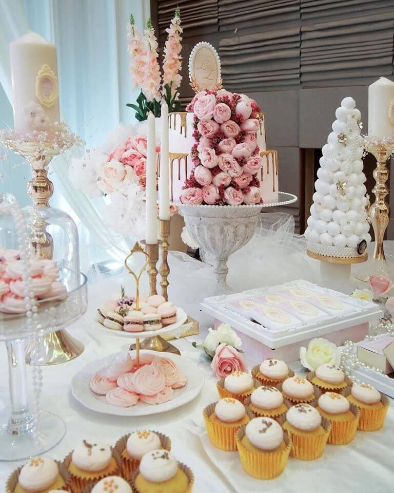 d'artisans dessert table