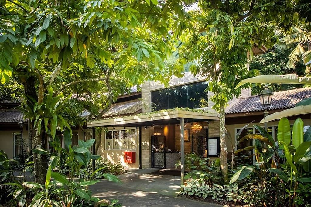 the villa at Singapore Botanic Gardens