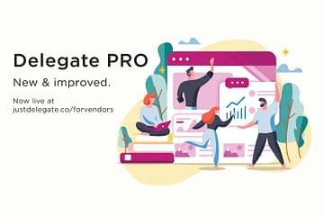 Delegate PRO for event businesses