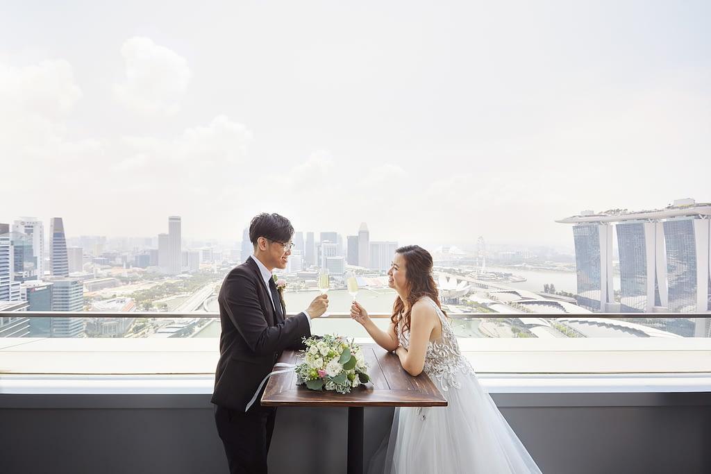 restaurant wedding - LeVel33