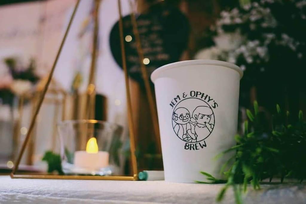 coffee bean wedding favour