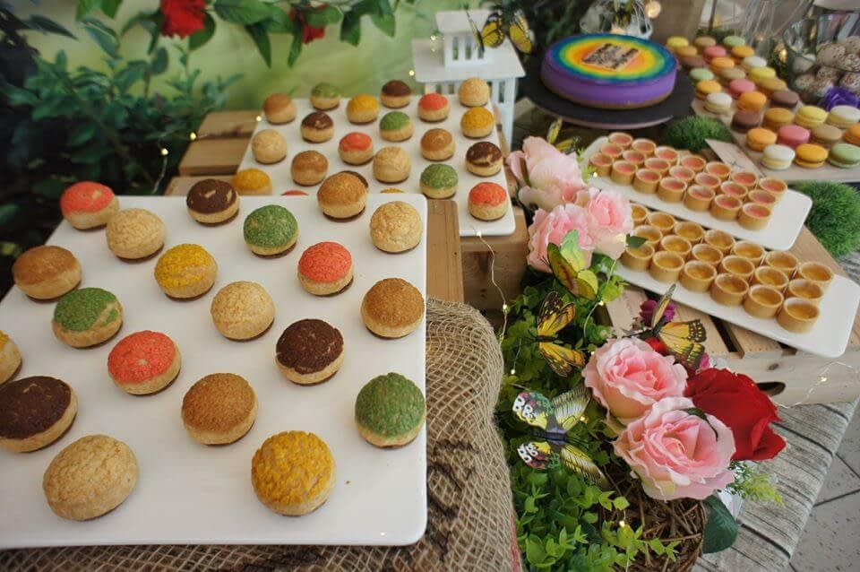 pastryden dessert table
