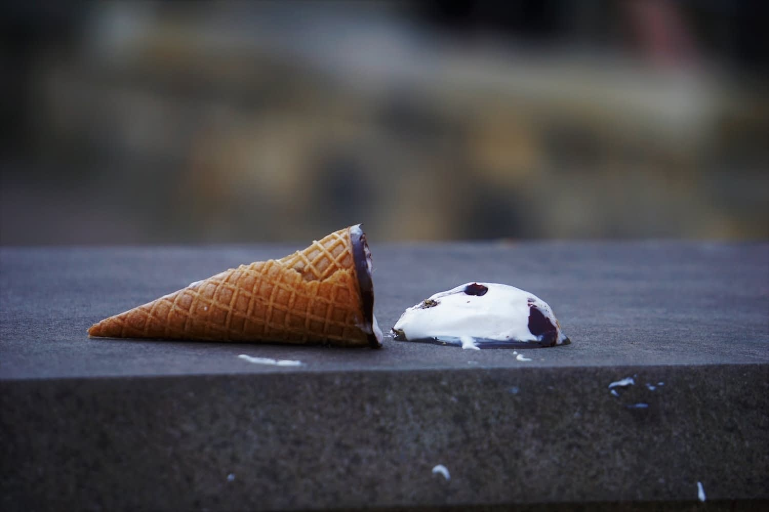 spilled ice cream - bridezilla article
