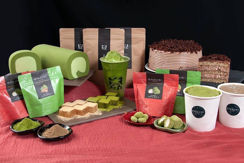 Tsujiri green tea