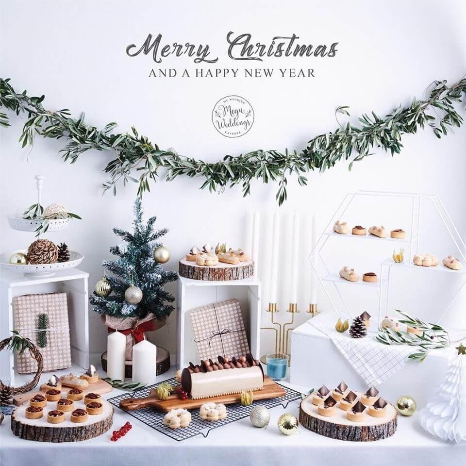 megu weddings dessert table