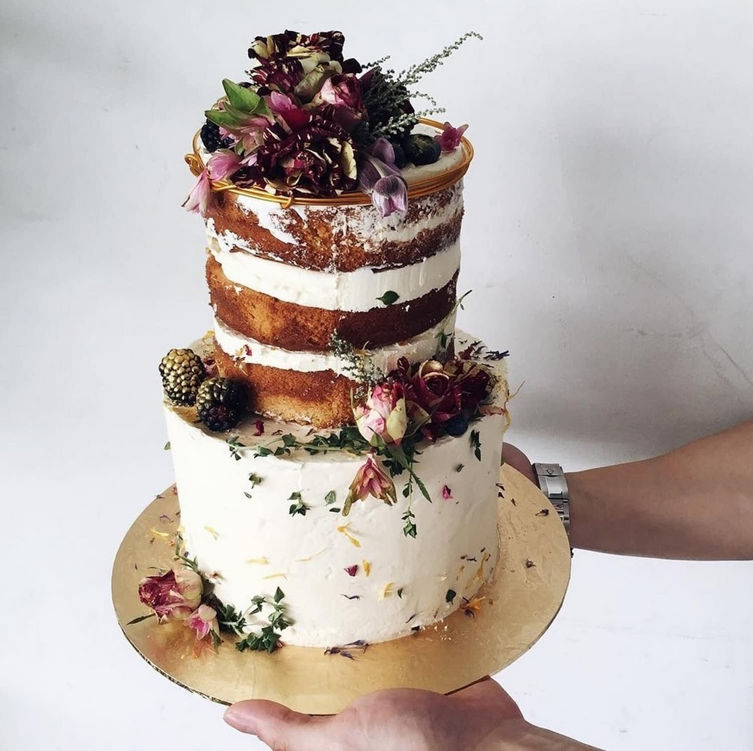 rustic wedding cake ideas 1